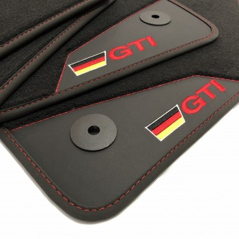 Volkswagen Amarok Double cab (2010 - current) GTI leather car mats