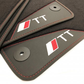 Audi TT 8J (2006 - 2014) leather car mats