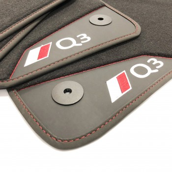 Audi Q3 (2011-2018) leather car mats