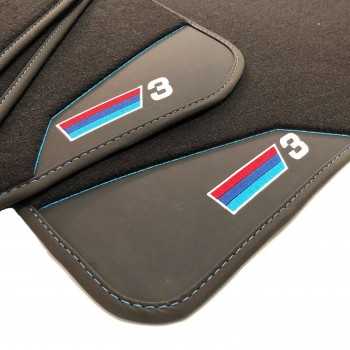 BMW 3 Series E90 Sedan (2005 - 2011) leather car mats