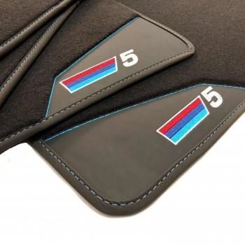 BMW 5 Series E34 Sedan (1987 - 1996) leather car mats