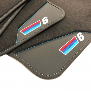 BMW 6 Series E64 Cabriolet (2003 - 2011) leather car mats