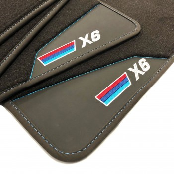 BMW X6 F16 (2014 - 2018) leather car mats