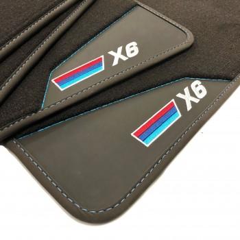 BMW X6 E71 (2008 - 2014) leather car mats