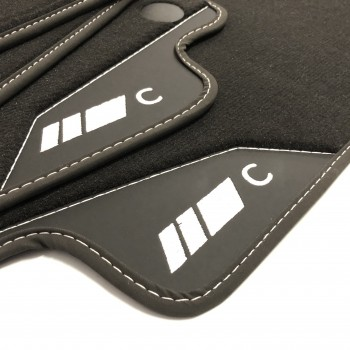 Mercedes CL C216 Coupé (2006 - 2013) leather car mats