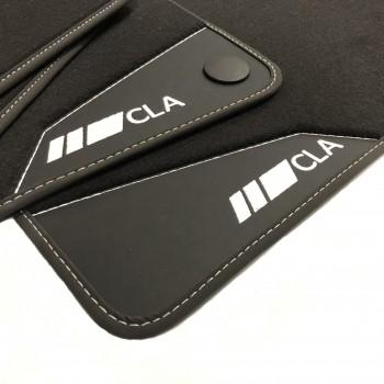 Mercedes CLA X118 (2019 - current) leather car mats