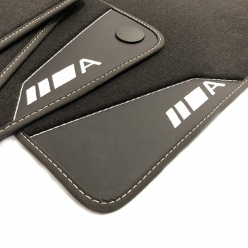 Mercedes A-Class W169 (2004 - 2012) leather car mats