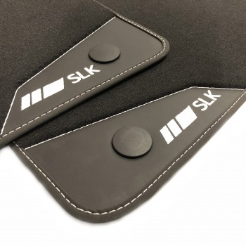 Mercedes SLK R171 (2004 - 2011) leather car mats
