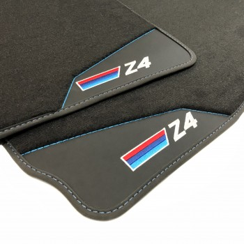 BMW Z4 E85 (2002 - 2009) leather car mats