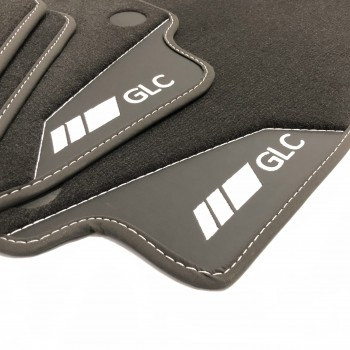 Mercedes GLC X253 SUV (2015 - current) leather car mats