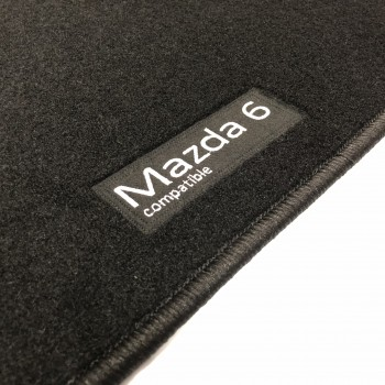 Mazda 6 Sedán (2017 - current) tailored logo car mats