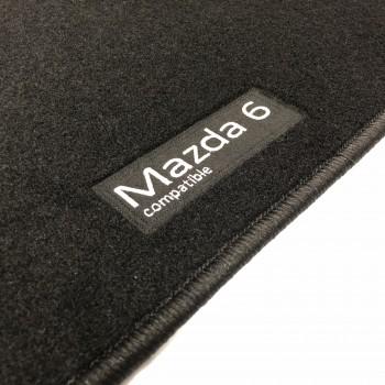Mazda 6 Wagon (2017 - current) tailored logo car mats