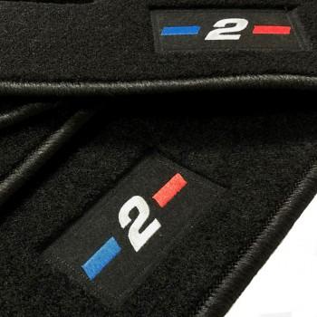 BMW 2 Series F45 Active Tourer (2014 - current) tailored logo car mats