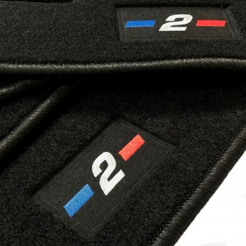 BMW 2 Series F46 5 seats (2015 - current) tailored logo car mats