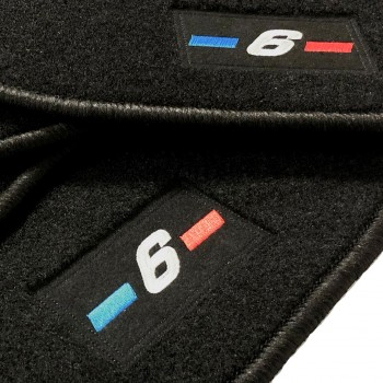 BMW 6 Series F12 Cabriolet (2011 - current) tailored logo car mats