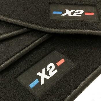 BMW X2 tailored logo car mats