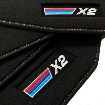 BMW X2 Velour car mats