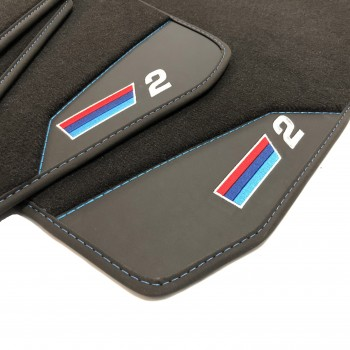 Bmw Series 2 Hybrid (2016 - current) leather car mats