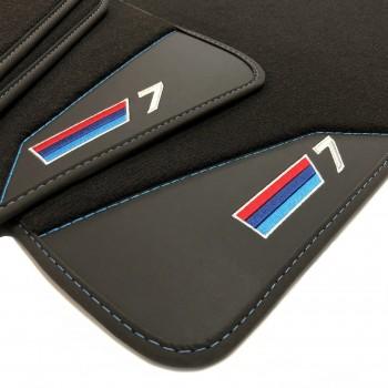 BMW 7 Series E66 long (2002-2008) leather car mats