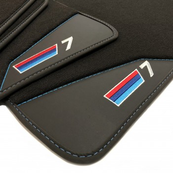 Bmw Series 7 Hybrid (2018 - current) leather car mats