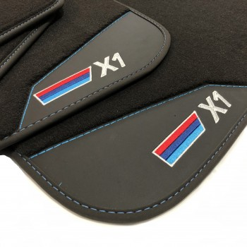 BMW X1 E84 (2009 - 2015) leather car mats