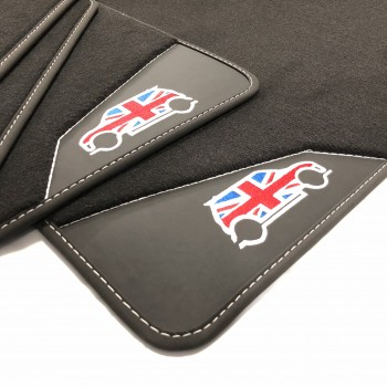 Mini Cooper / One F55 5 doors (2015 - current) leather car mats