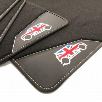 Mini Roadster leather car mats
