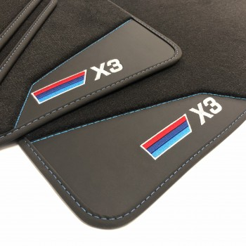 BMW X3 E83 (2004 - 2010) leather car mats