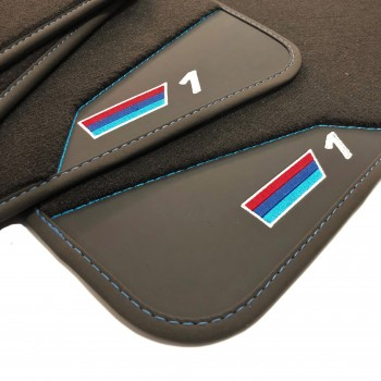 BMW 1 Series E87 5 doors (2004 - 2011) leather car mats