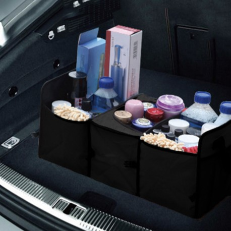 Organizer luggage compartment, foldable and economical