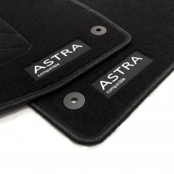 Opel Astra K Sports Tourer (2015 - current) tailored logo car mats