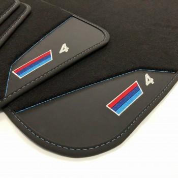 BMW 4 Series F32 Coupé (2013 - current) leather car mats