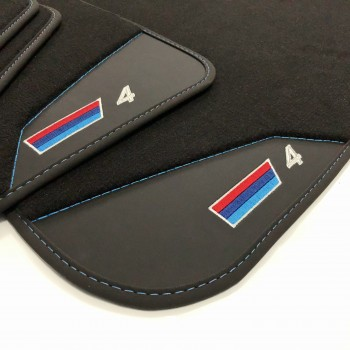BMW 4 Series F33 Cabriolet (2014 - current) leather car mats