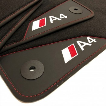 Audi A4 B7 Cabriolet (2006 - 2009) leather car mats