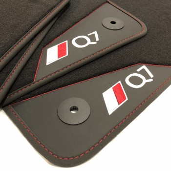 Audi Q7 4M 7 seats (2015 - current) leather car mats