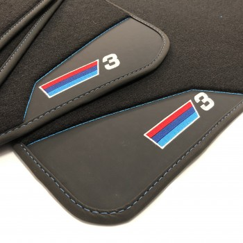 BMW 3 Series E46 Cabriolet (2000 - 2007) leather car mats