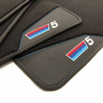 BMW 5 Series E39 touring (1997 - 2003) leather car mats