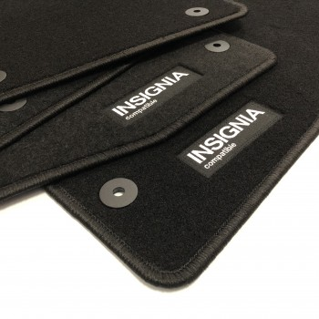 Opel Insignia Sedán (2008 - 2013) tailored logo car mats