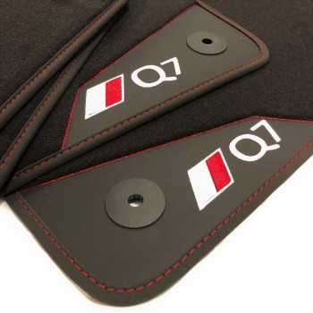Audi Q7 4L (2006 - 2015) leather car mats