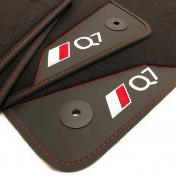 Audi Q7 4L (2006 - 2015) leather car mats
