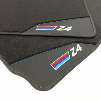 BMW Z4 E89 (2009 - 2018) leather car mats