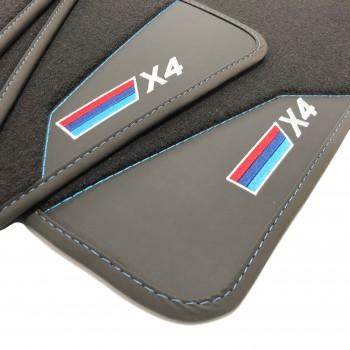BMW X4 (2014-2018) leather car mats