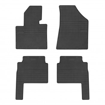 Kia Sorento 7 seats (2009 - 2012) rubber car mats