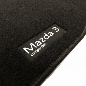 Mazda 3 (2009 - 2013) tailored logo car mats
