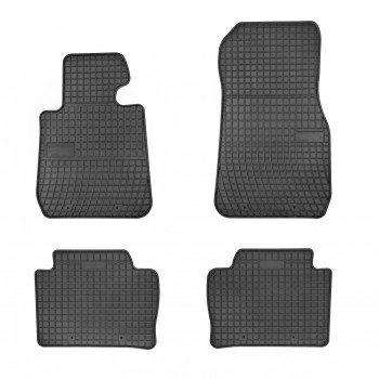 goma Bmw 4 Series F36 Grand Coupé (2014-current) rubber car mats