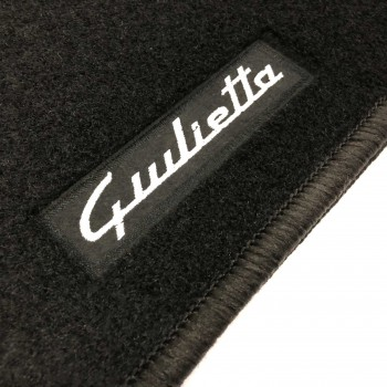 Alfa Romeo Giulietta (2014 - current) tailored logo car mats