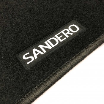 Dacia Sandero Restyling (2017 - current) tailored logo car mats