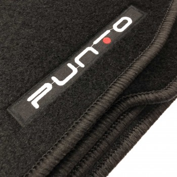 Fiat Punto (2012 - current) tailored logo car mats