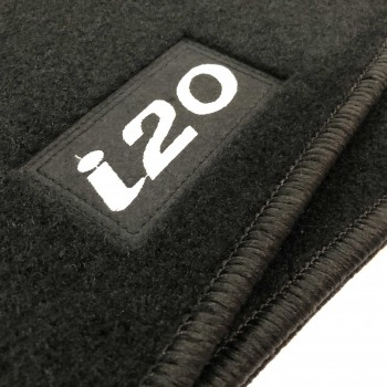 Hyundai i20 (2015 - current) tailored logo car mats