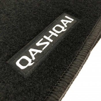 Nissan Qashqai (2017 - current) tailored logo car mats